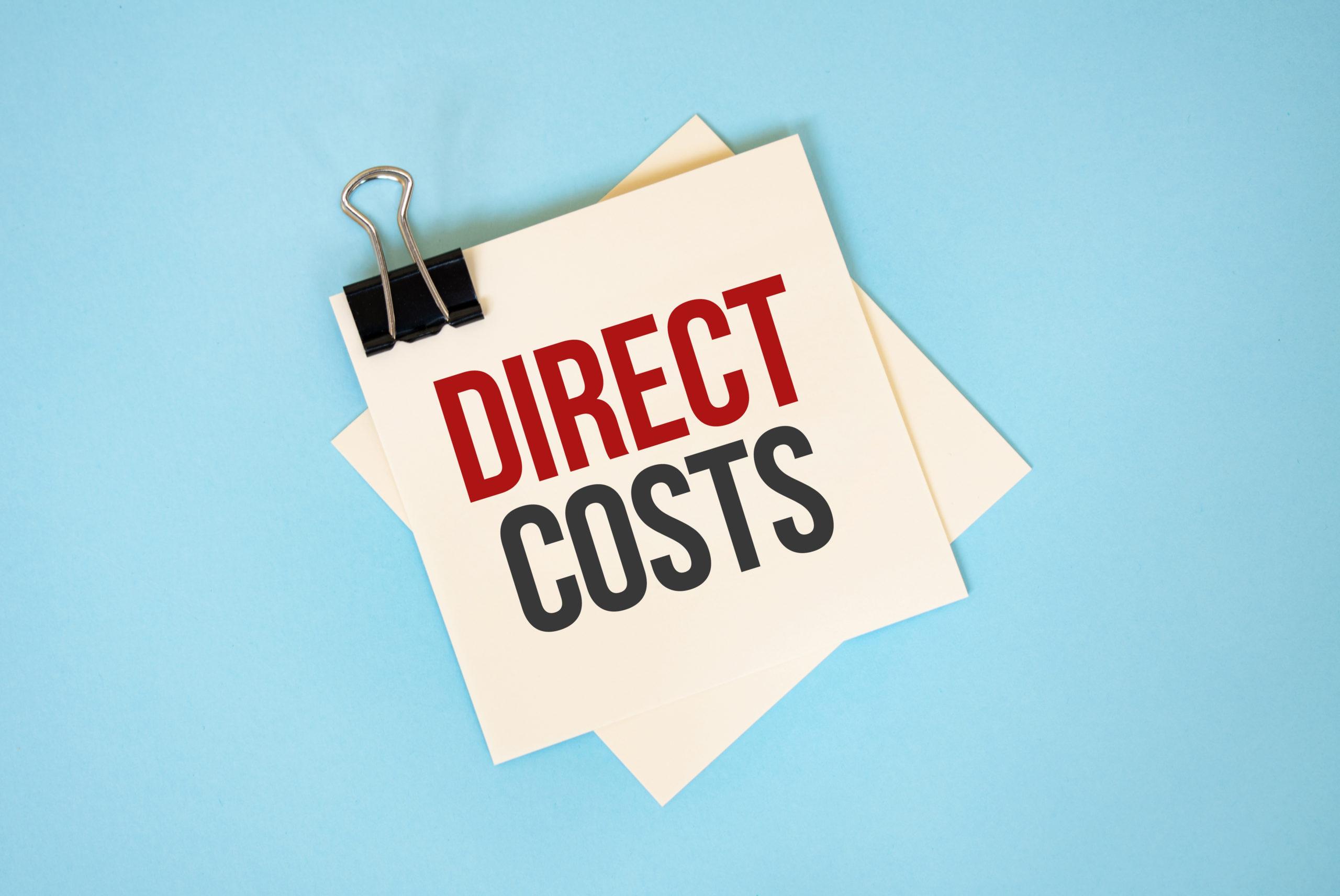 I costi diretti aziendali